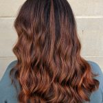 Curly Dyed Red Hair | Avalanche Salon & Spa Collegeville
