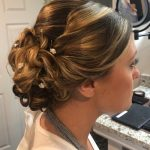 Fancy Updo with Flowers | Avalanche Salon & Spa Collegeville