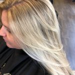 Long Icy Blonde Hair with Layers | Avalanche Salon & Spa Collegeville
