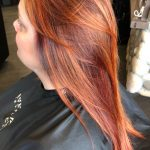 Long Red Dyed Hair | Avalanche Salon & Spa Collegeville