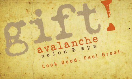 Gift Card | Avalanche Salon & Spa